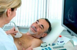 سونوگرافی سینه در مردان